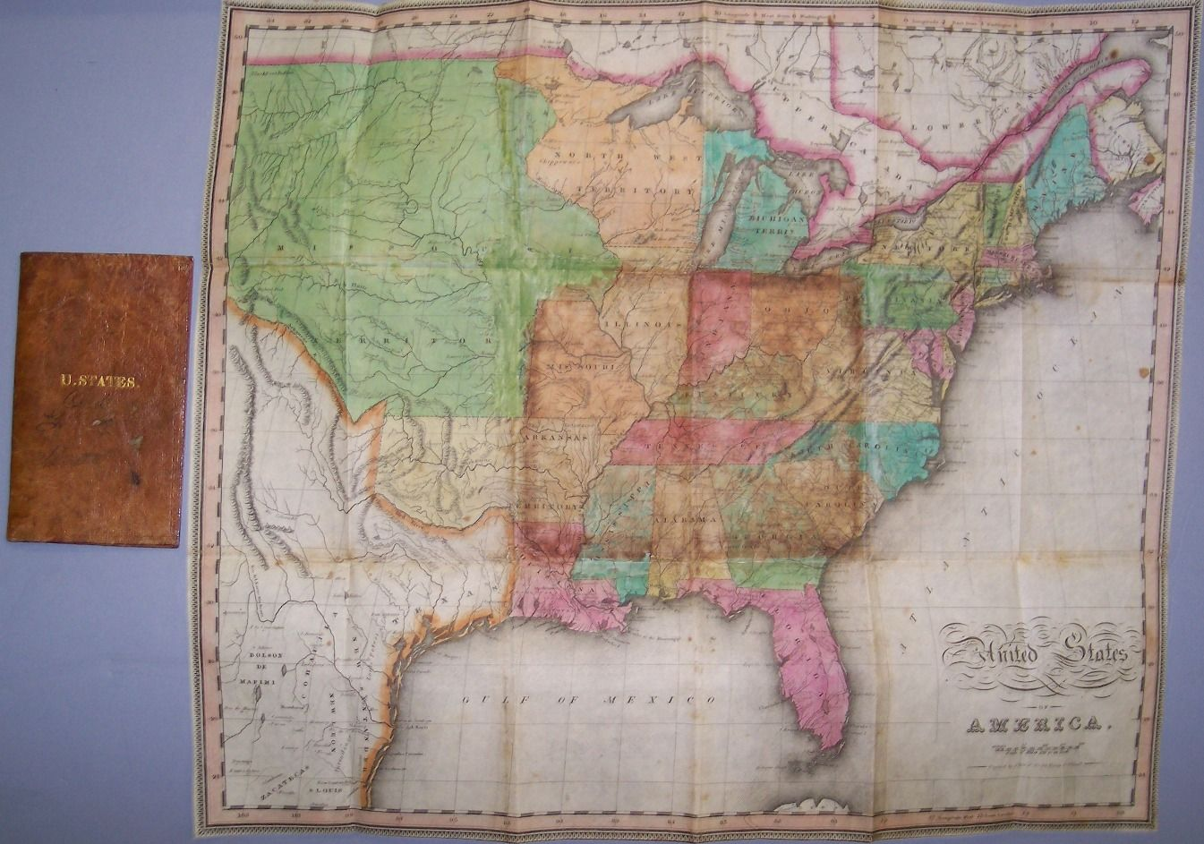 United States of America. Rare early 1820s Pocket Map of the ... on fort worth america map, fort wayne america map, albuquerque america map, dc america map, baltimore america map, lima america map, pennsylvania america map, kansas city america map, vincennes america map, albany america map, boise america map, pittsburgh america map, nebraska america map, massachusetts america map, akron america map, birmingham america map, quebec city america map, newport america map, big america map, tulsa america map,