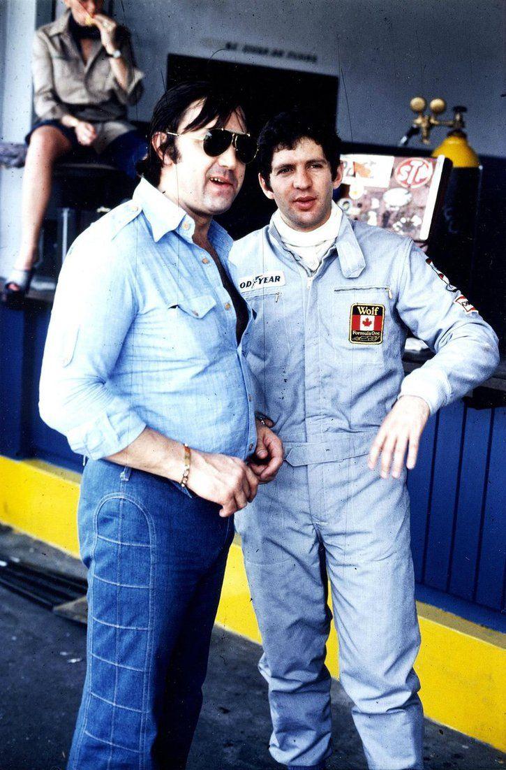 Walter Wolf & Jody Scheckter (Argentine 1977)