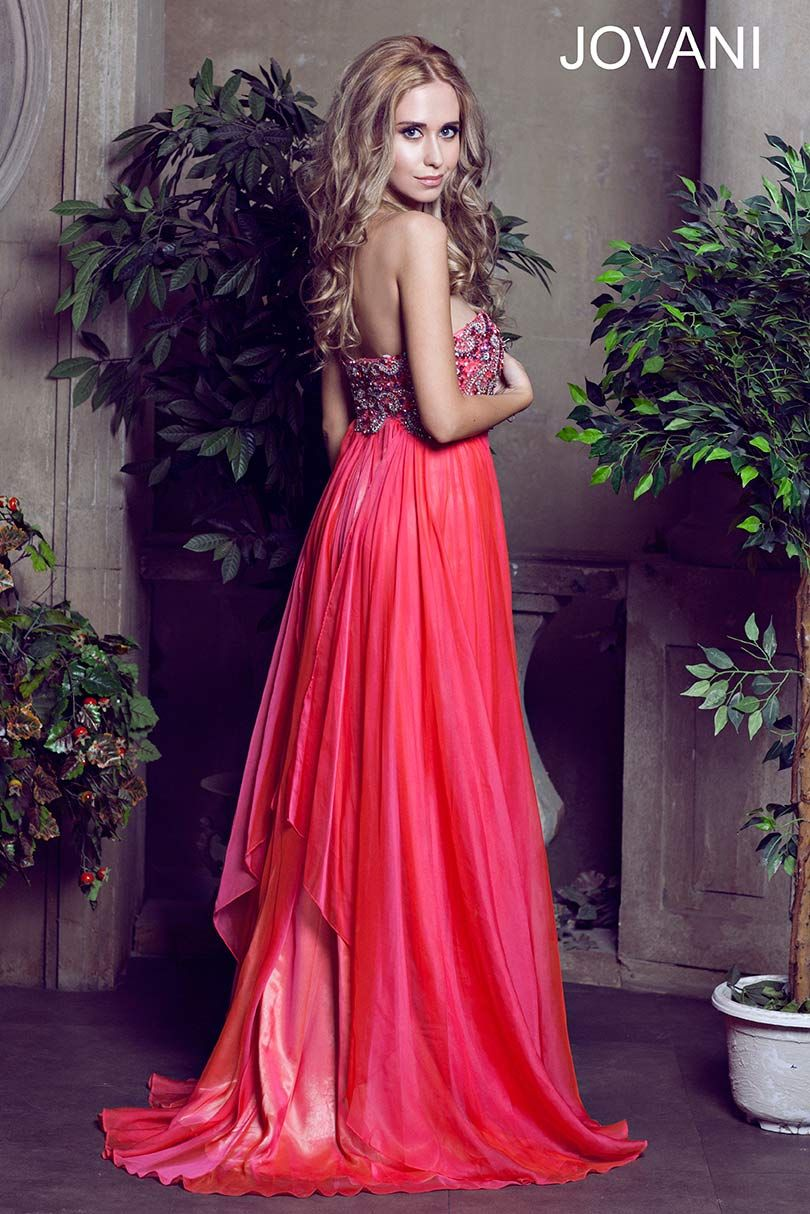 Strapless beaded jovani gown g o w n s pinterest dream prom