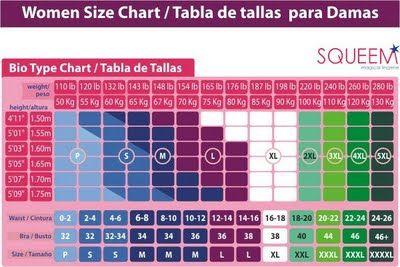 My Bandita Weight Height Clothing Size Correspondence Chart Dress Size Chart Women Dress Size Chart Height To Weight Chart