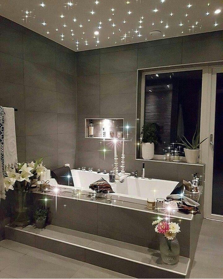 Stars On The Ceiling Romantic Bathrooms Home Dream Bathrooms