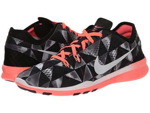 info for c0ef6 f7550 ... buy nike free 5.0 tr fit 5 prt black pinkpow bright citrus metallic  silver zappos free