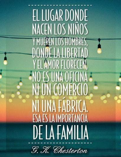 Dia Internacional De La Familia Frases Pinterest Thoughts
