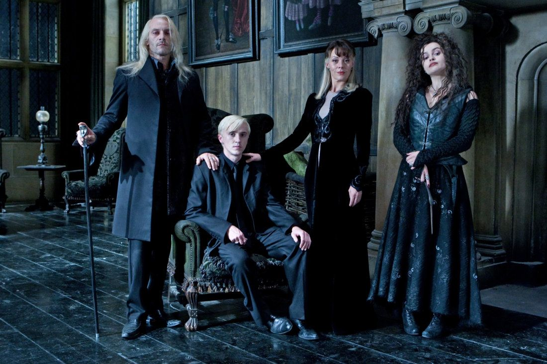 Pottermore A Malfoy Family Portrait Harry Potter Personnages Harry Potter Drago Malefoy