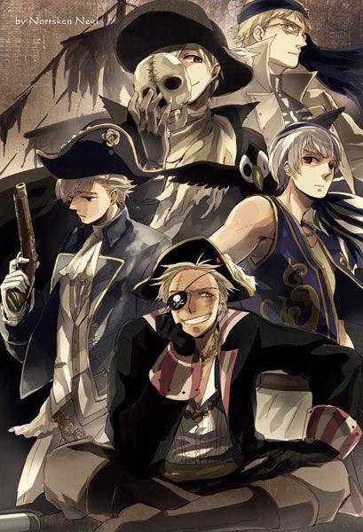 Massvis av pirater i sverige