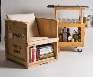 Furniture Made From Repurposed Shipping Crates