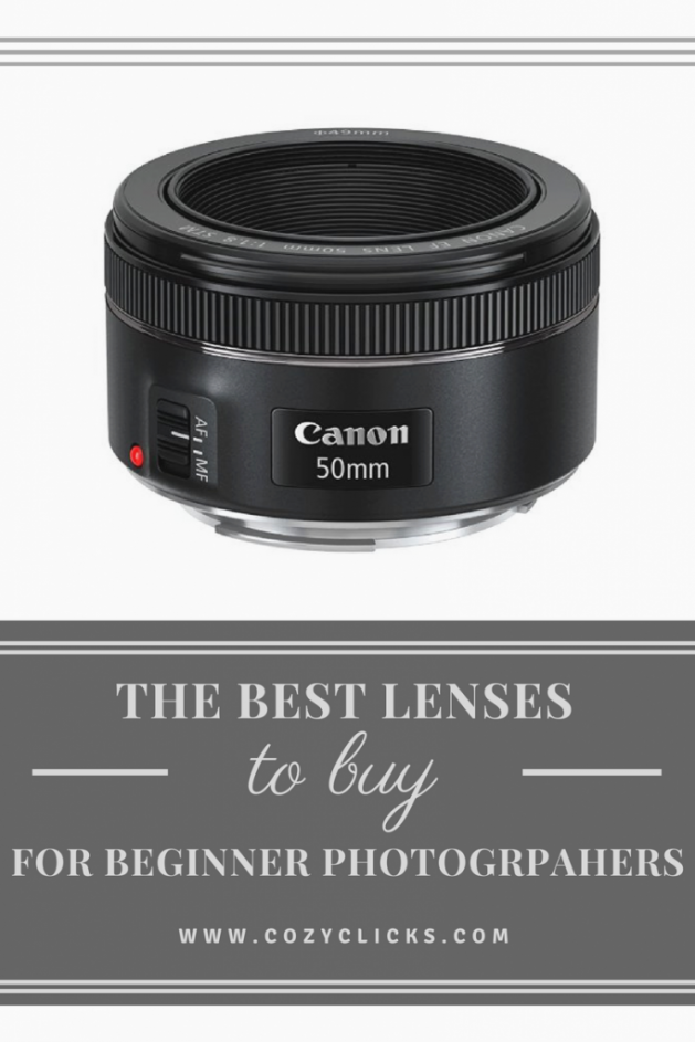 The best lenses for new photographers The 50mm 1.8 is a great buy for the new photographer