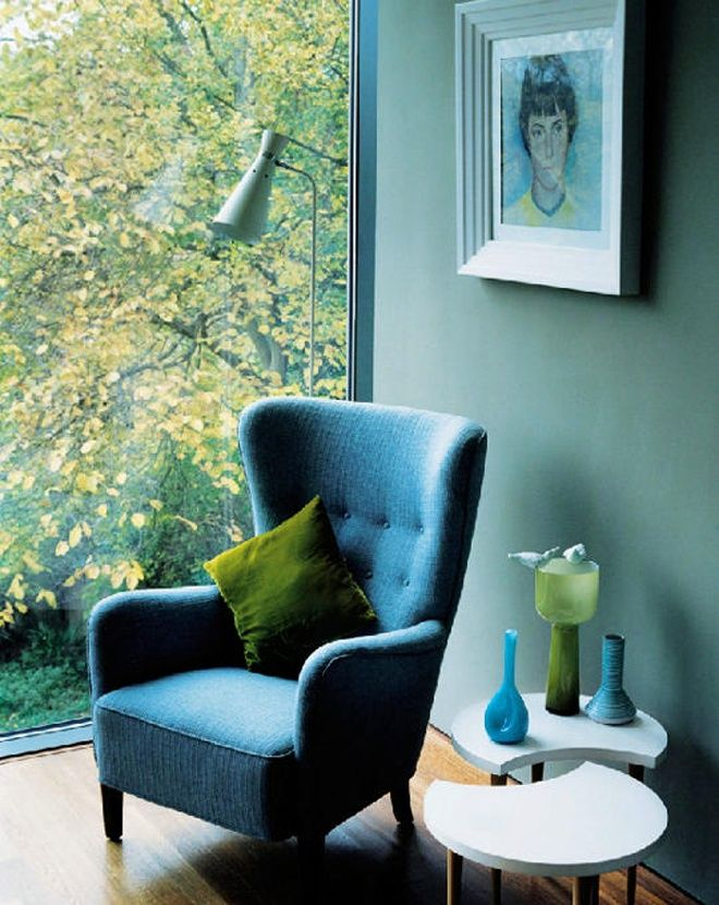25 Blue And Green Interiors Design An Interesting And Fresh