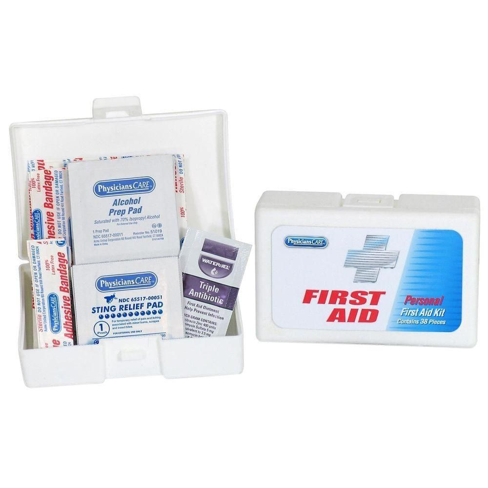PhysiciansCare 2 8 in  x 4 1 in  First Aid Kit | Products