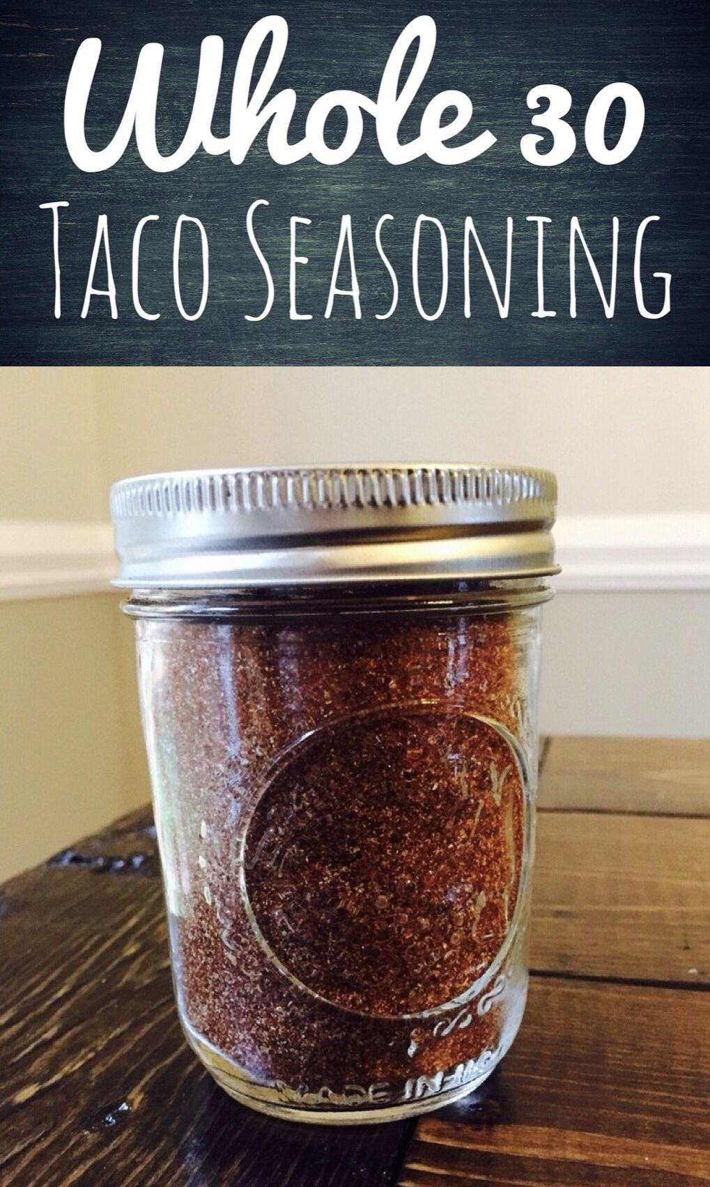 Whole 30 Taco Seasoning - Glitter On A Dime #maketacoseasoning