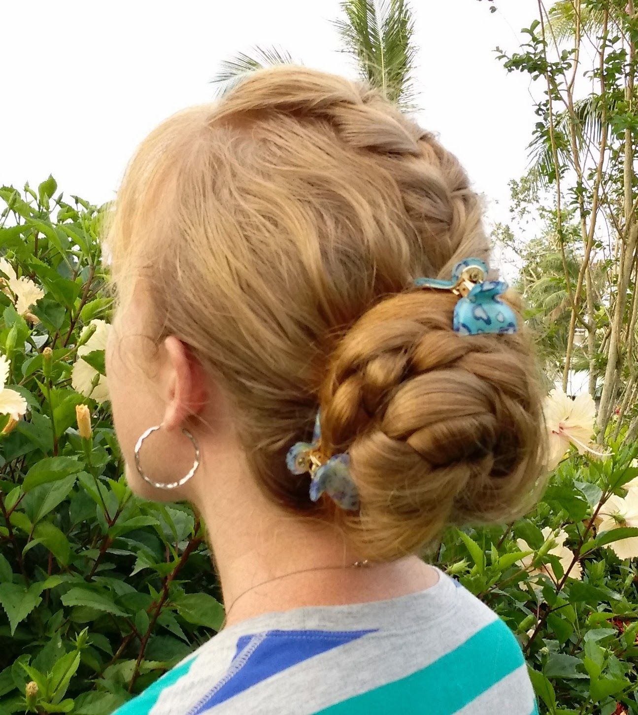 Messy mohawk hair u beauty pinterest french braid mohawk