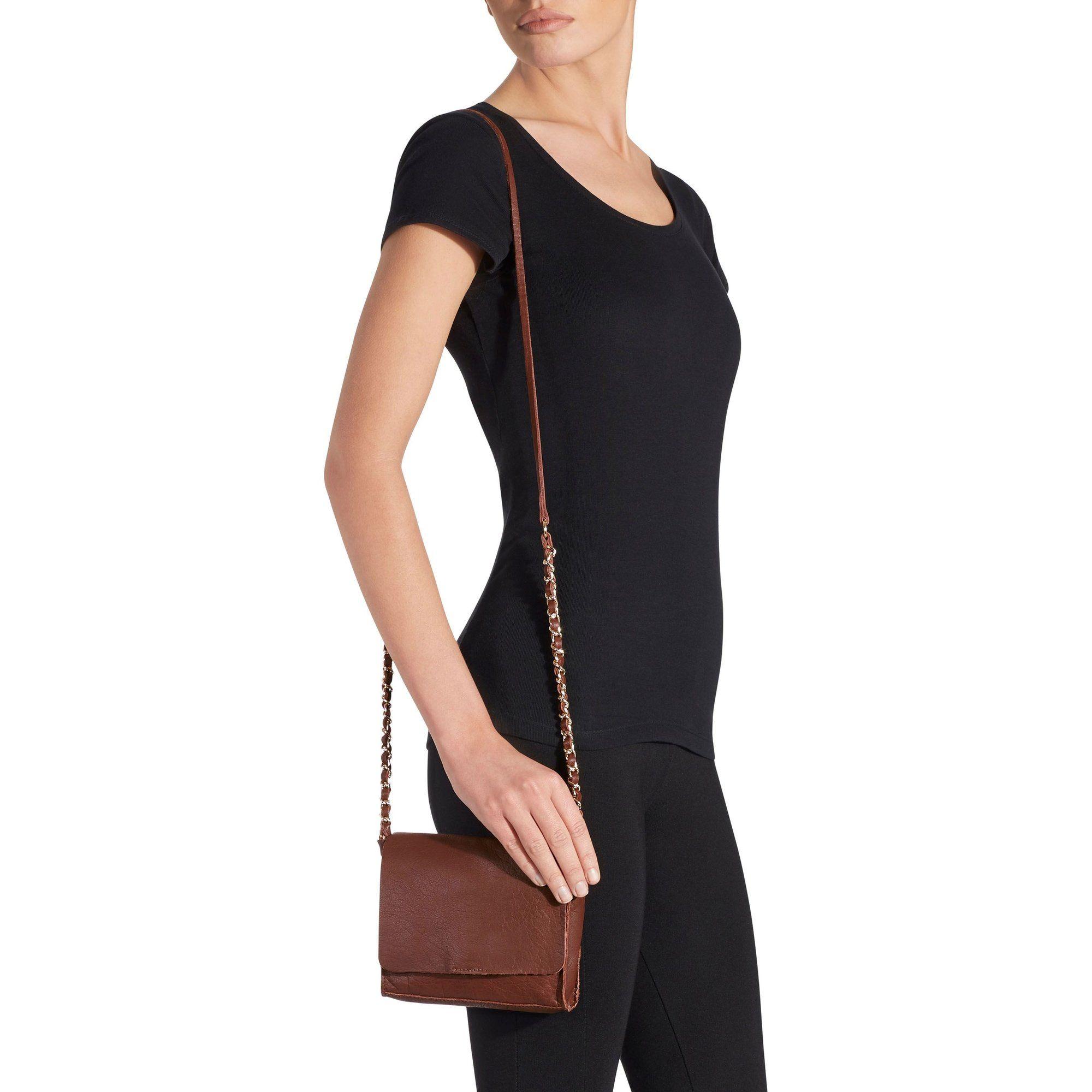 Mini sac à bandoulière chaîne en cuir femme Next
