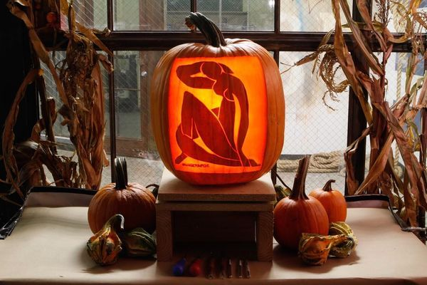 Art History Pumpkin Design