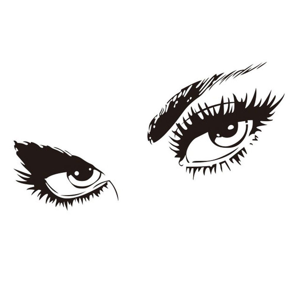 X Audrey Hepburn Beautiful Eyes Removable Wall Art - Wall stickershuhushopxaudrey hepburn beautiful eyes removable