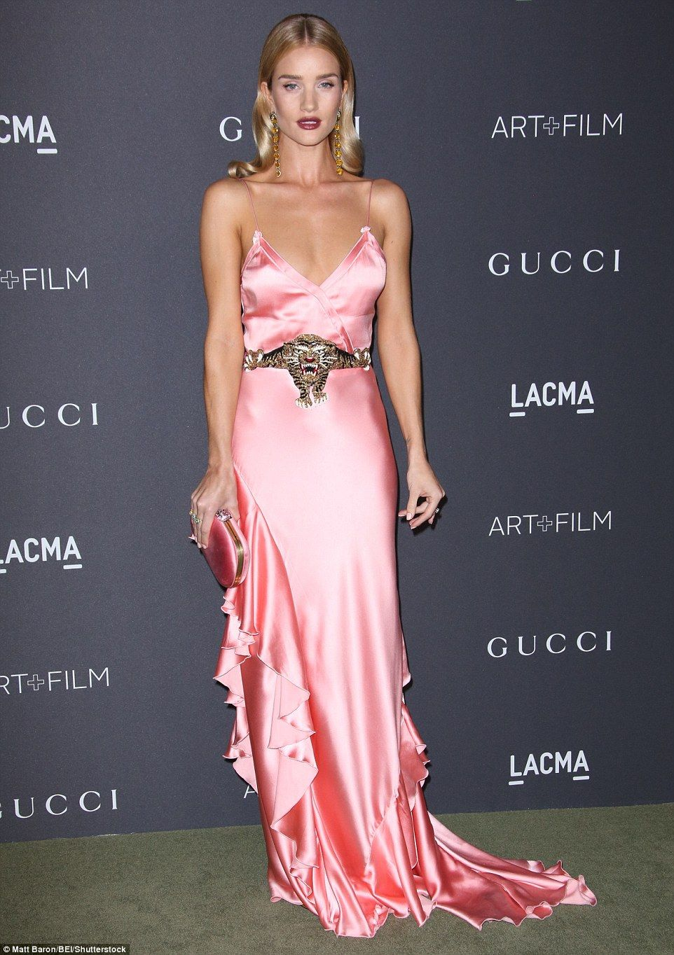 Brie Larson looks like a gem in aquamarine gown at LACMA Gala ...