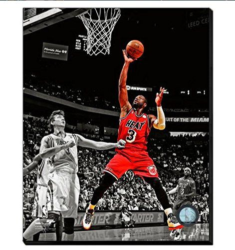 Dwyane Wade Canvas Framed Over With 2 Inches Stretcher Bars-Ready To Hang- Awesome & Beautiful-Must For A Championship Team Fan! All Teams Player Canvas Available-Please Go Through Description & Mention In Gift Message If Need A different Team-Choose Size Option (16 x 20 inches stretched Dwyane Wade Canvas) Art and More, Davenport, IA http://www.amazon.com/dp/B00N0PU142/ref=cm_sw_r_pi_dp_uKbzub12BXMCZ