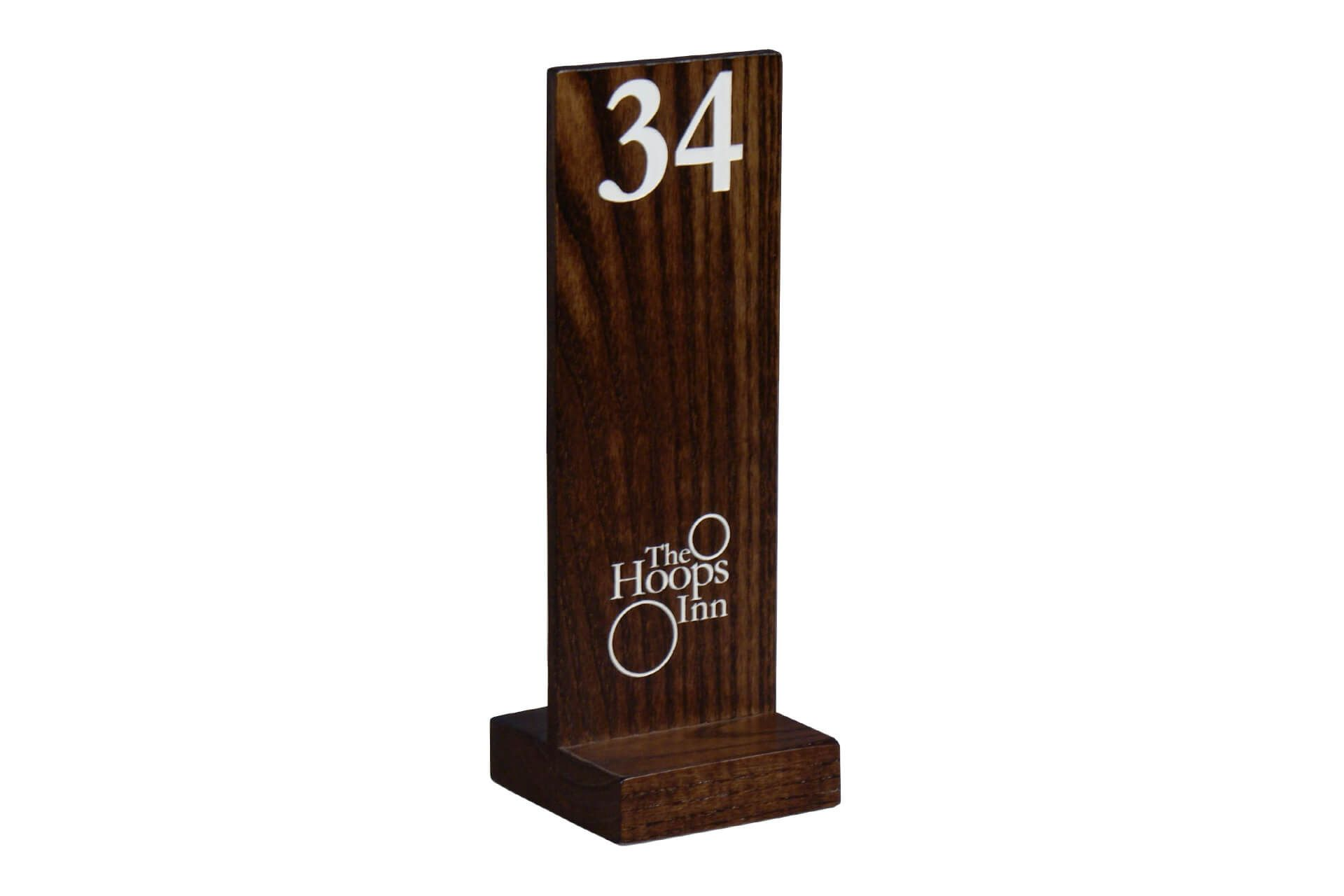 Wooden Custom Table Numbers Cafes And Restaurants Rustic Fixtures - Custom restaurant table numbers