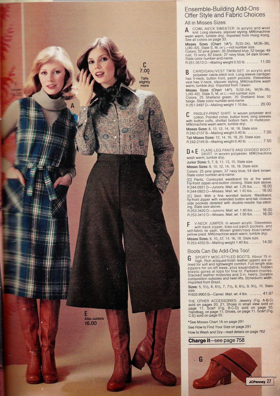Kathy Loghry Blogspot: Random Weirdness: 70s Gauchos - Part 1