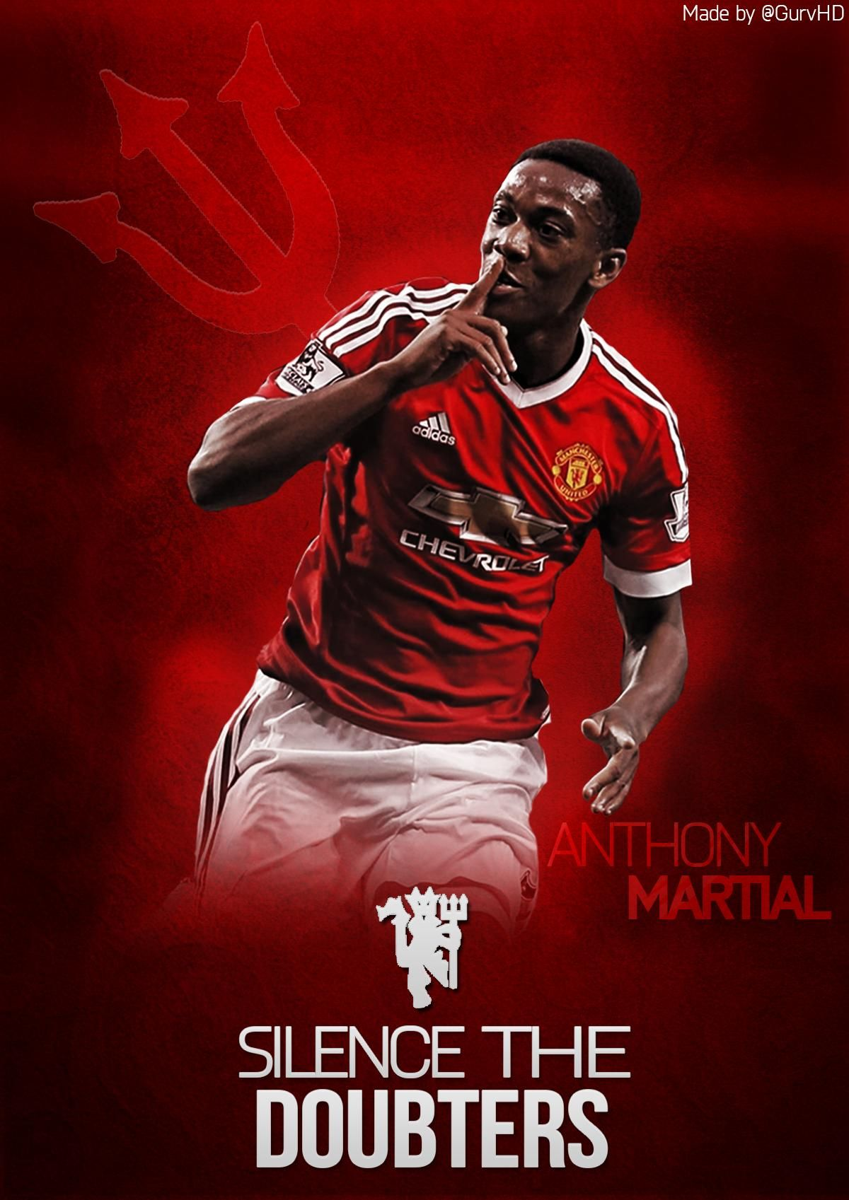 Anthony Martial Wallpaper 2020 Live Wallpaper Hd Anthony Martial Manchester United Team Manchester United Logo