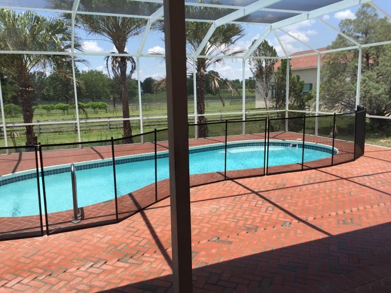Debary pool safety baby barrier of volusia county pool