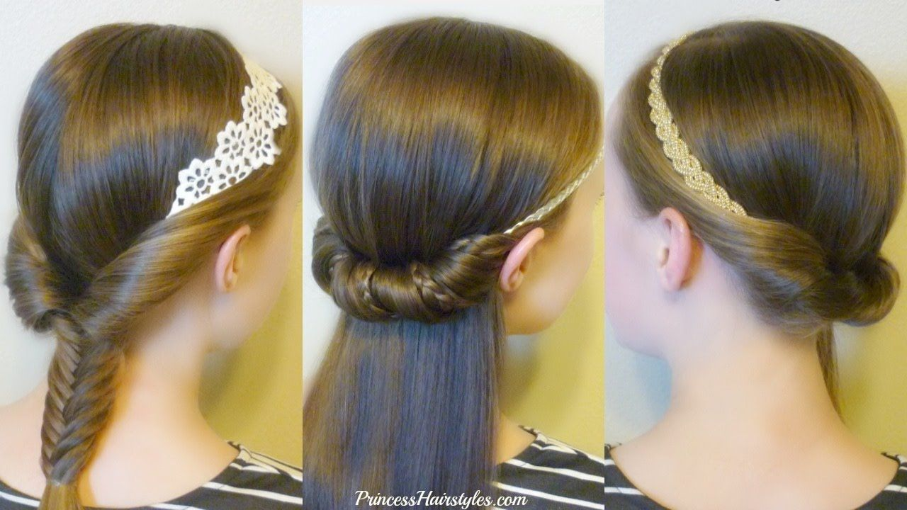 quick and easy hairstyles for school using headbands beauty and