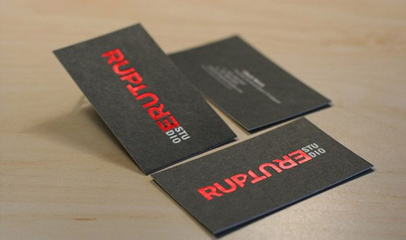 100 Awesome And Original Business Cards From Designers Business Card Design Creative Embossed Business Cards Printing Business Cards