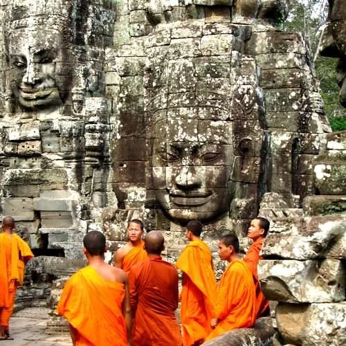 Cambodia- most spiritual places I've ever been too.  Near Ankor Wat - several days of temple exploration and great photography. Can combine with a trip to Thailand.