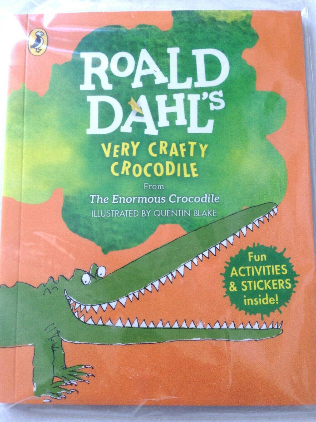 Mcdonald S Roald Dahl S Very Crafty Crocodile Book With