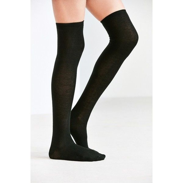 e971969e9afd8 Lightweight Over-The-Knee Sock ($14) ❤ liked on Polyvore featuring intimates,  hosiery, socks, long socks, above knee socks, over the knee hosiery, ...