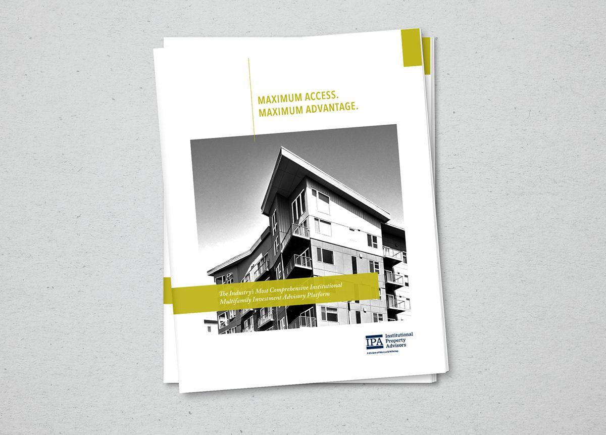Commercial Real Estate Investment Brochure Design On Behance Commercial Real Estate Marketing Commercial Real Estate Brochure Design Commercial real estate brochure template