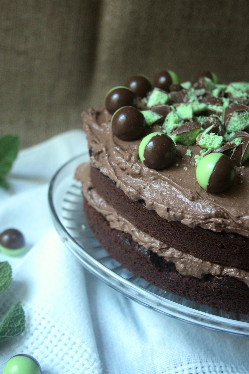 Chocolate Mint Aero Cake Scarletscorchdroppers Recipes