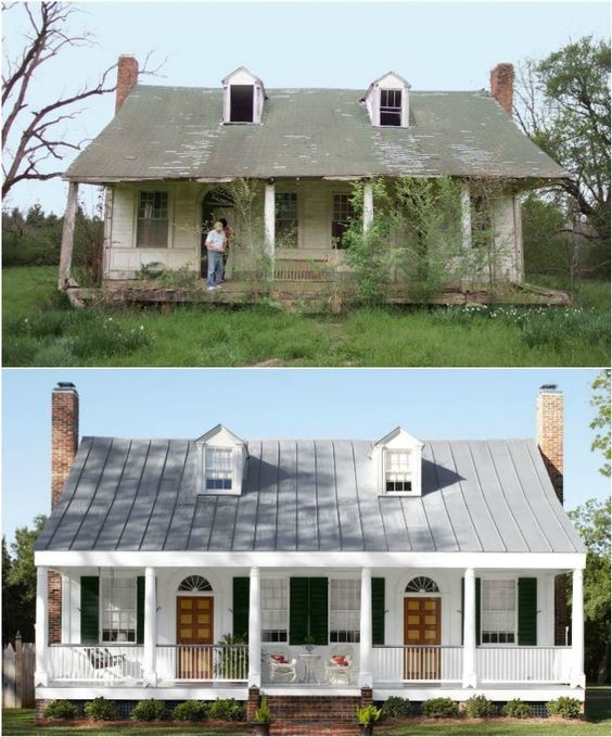 20 Home Exterior Makeover Before And After Ideas House Makeovers