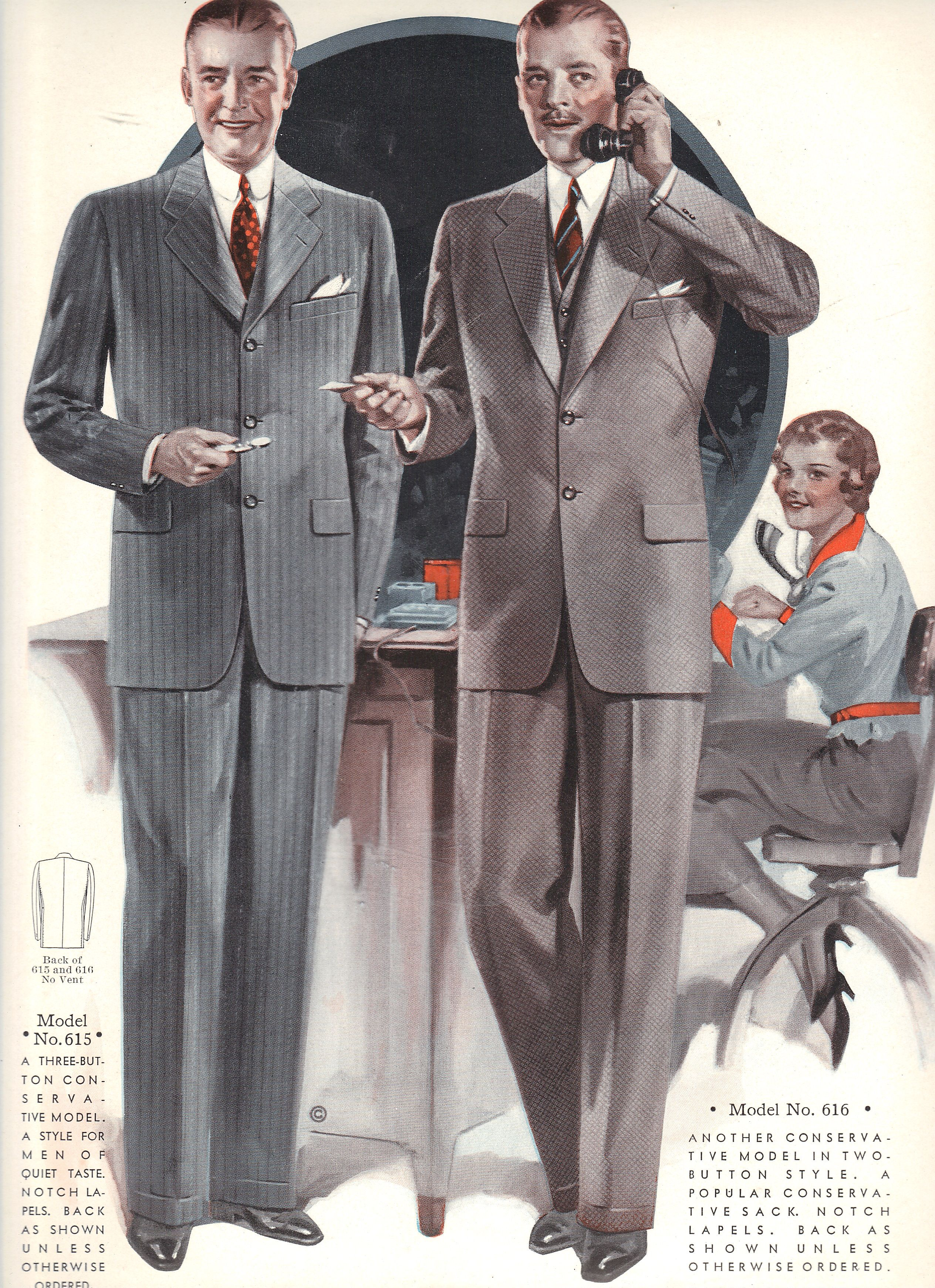 1930s vintage clothes. Windsor Tailoring Company Style Book Autumn ...