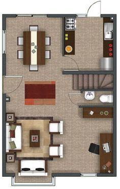 planos de casas de dos pisos hermosas