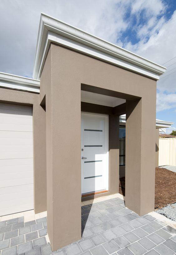 Colores de pintura para fachadas cl sicas colores para - Pinturas modernas para casas ...