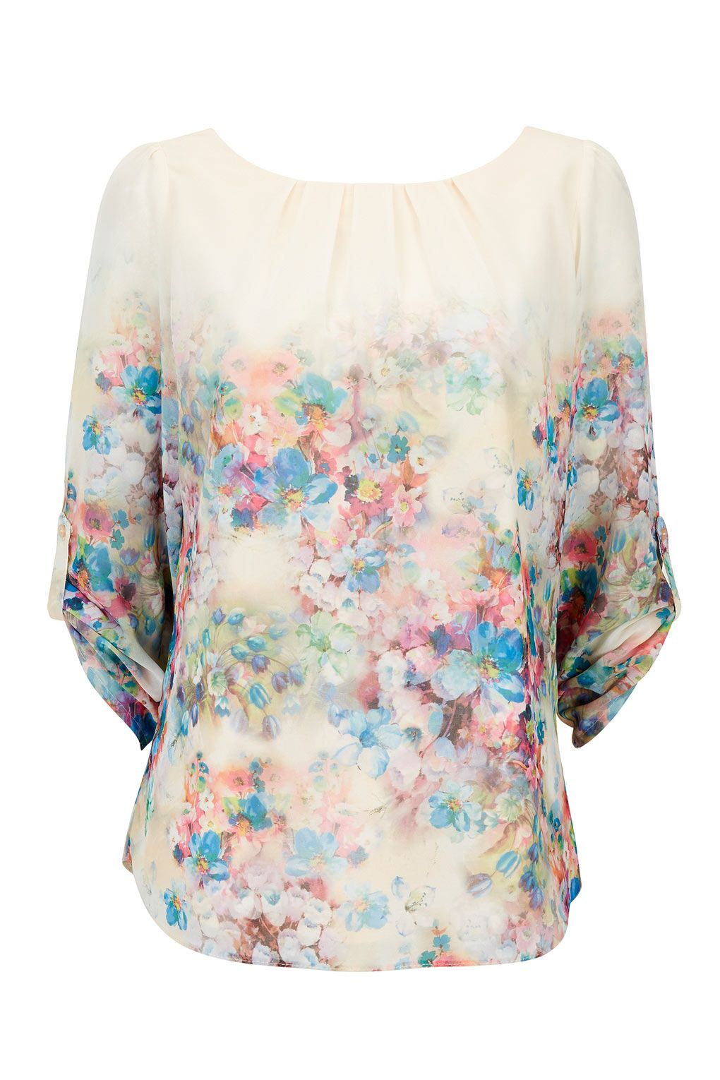 Stone Water Colour Blouse