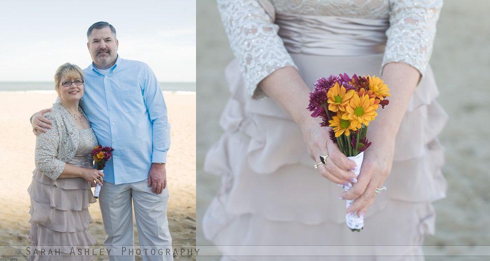 www.sarahashleyphotos.com A Virginia Beach Oceanfront Wedding.
