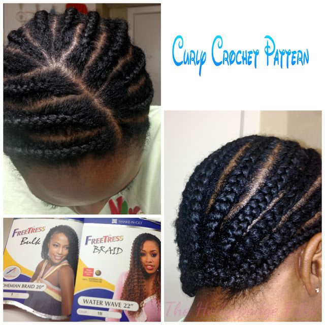 The HodgePodge Files: Curly Crochet Braids with Freetress Bohemian ...
