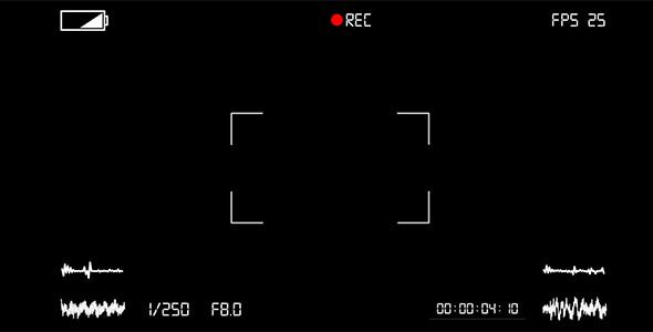 Camera Rec Video Effects Stock Videos Camera Frame Rec Camcorder