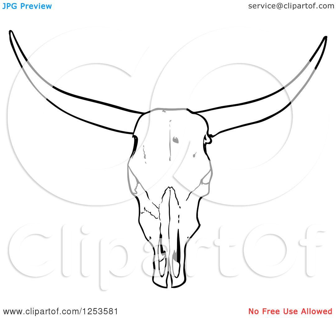 Simple Cow Skull Tattoo Stencil Animal Skull Drawing Cow Skull Tattoos Skull Stencil