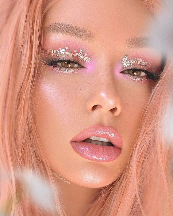 #makeup Makeup Idea for New Year #Christmas #newyear #2020