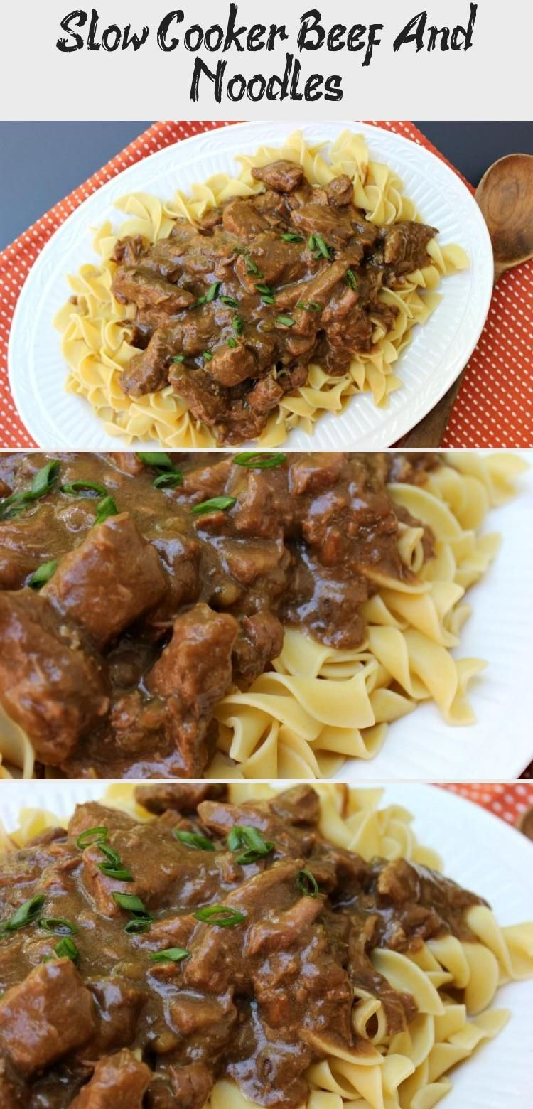 Photo of Slow Cooker Beef And Noodles – Minna's Blog