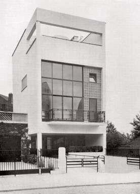 Paul-Amaury Michel, La maison de verre à Uccle, directement inspirée ...