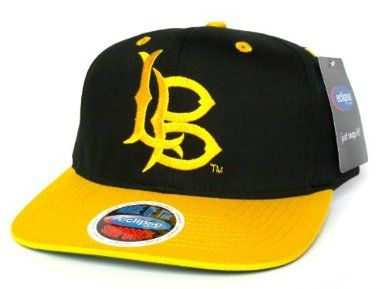 a748b002e97 LONG BEACH State 49ers Snapback Hat - Eclipse Snapback - NCAA Cap - 2 Tone  Black Gold  Amazon.co.uk  Amazon.co.uk