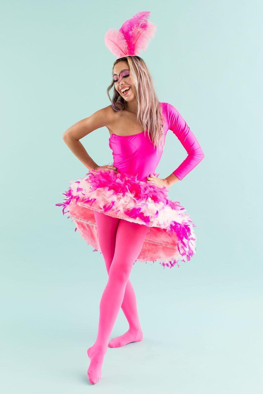 the best teen halloween costumes like this flamingo costume
