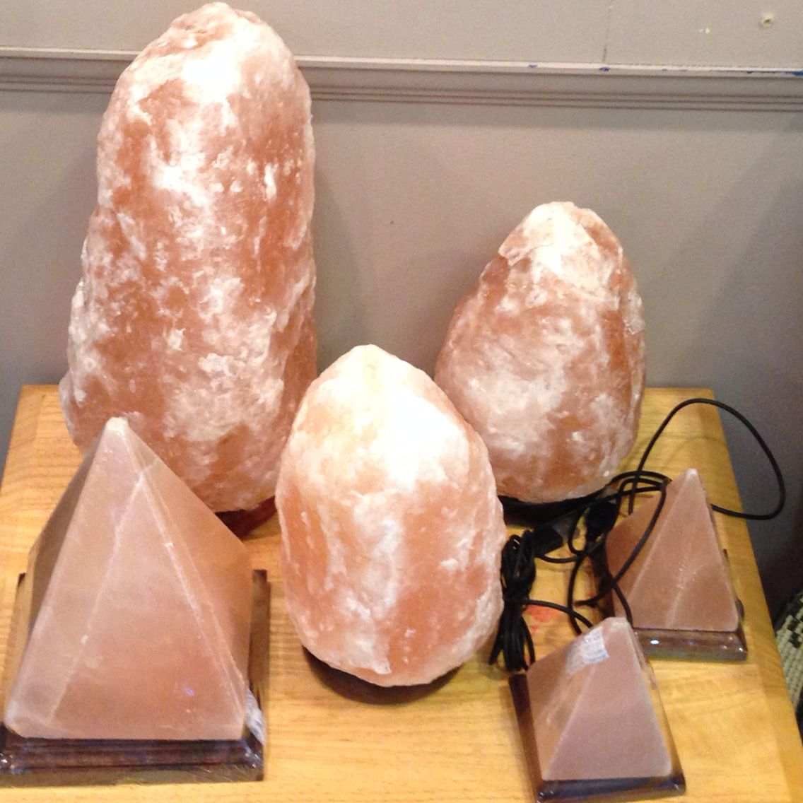 Salt Lamps And Cats Interesting Our Huge Salt Lamp Order Will Be In Store On October 21St  Little Decorating Design