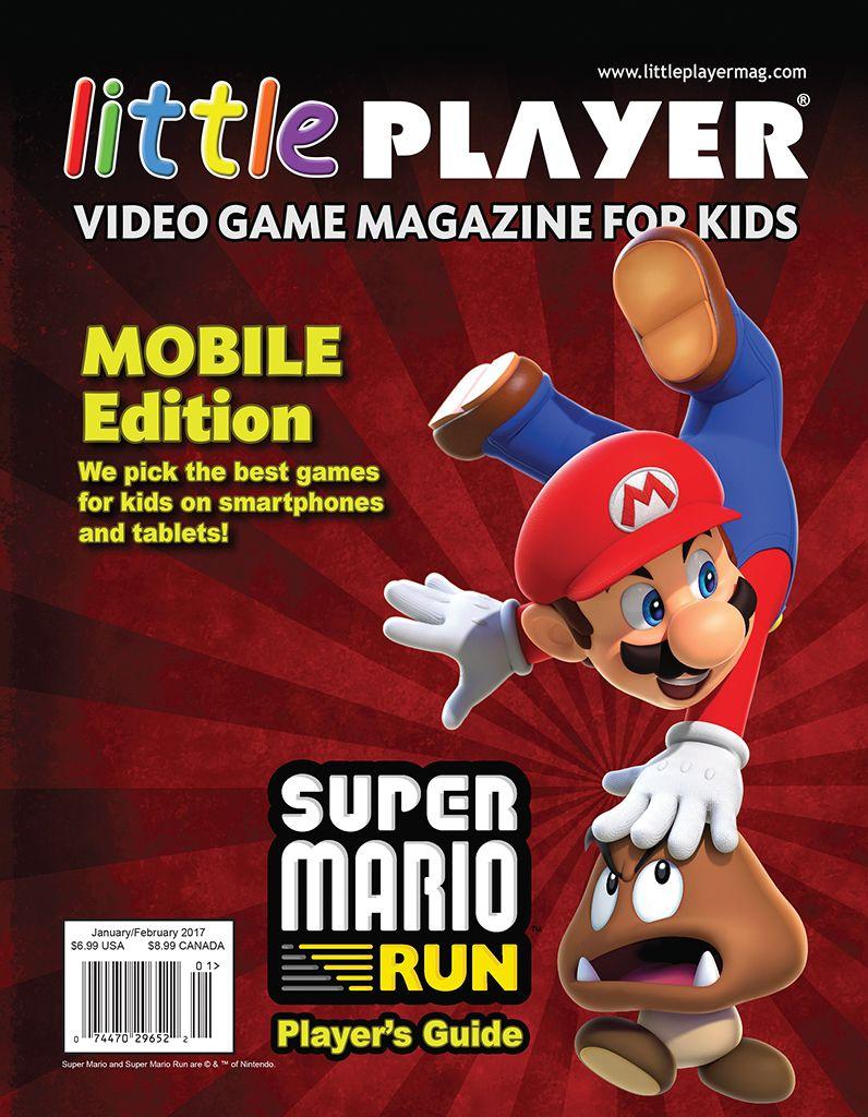 Little Player Magazine Video Game Magazine for Kids