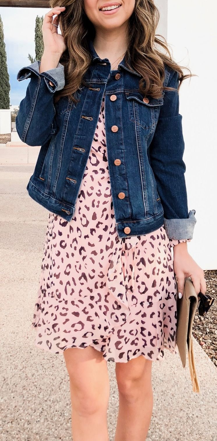 9 Wrap Dresses My Favorite Style Tip Simply Sutter Denim Jacket Fashion Jacket Outfit Women Fashion [ 1513 x 745 Pixel ]