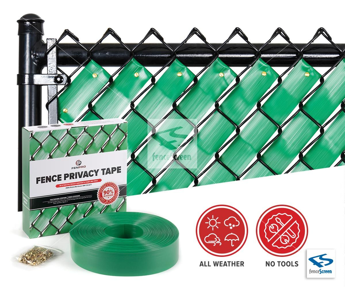 Fenpro Fence Privacy Tape In 2020 Chain Link Fence Privacy