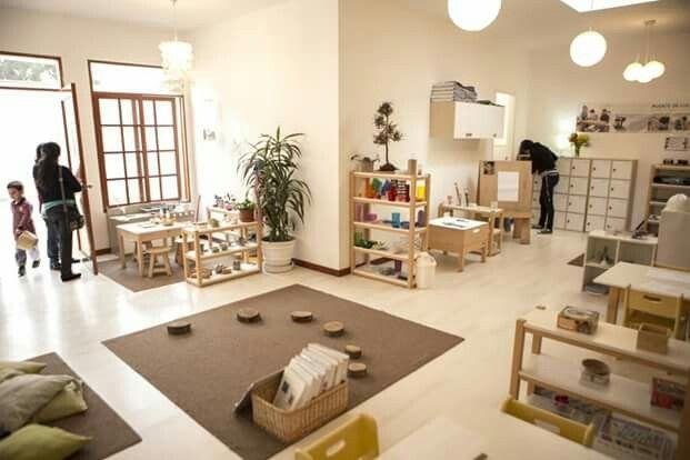 Nido la casa amarilla estances pinterest for Raumgestaltung tagesmutter